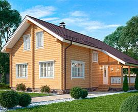 Дизайн-проект дома в классическом стиле №175